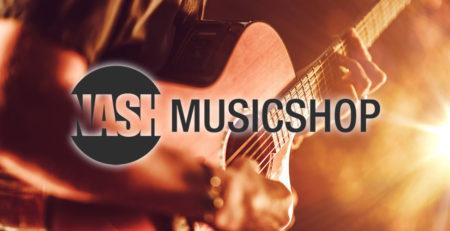 New Website Nash Music
